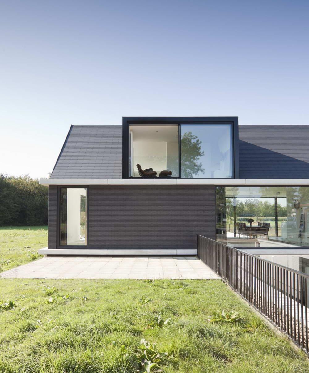 прямоугольный дом проект фото правления