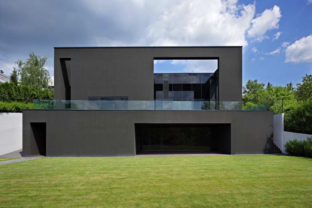 Дом черный картинки