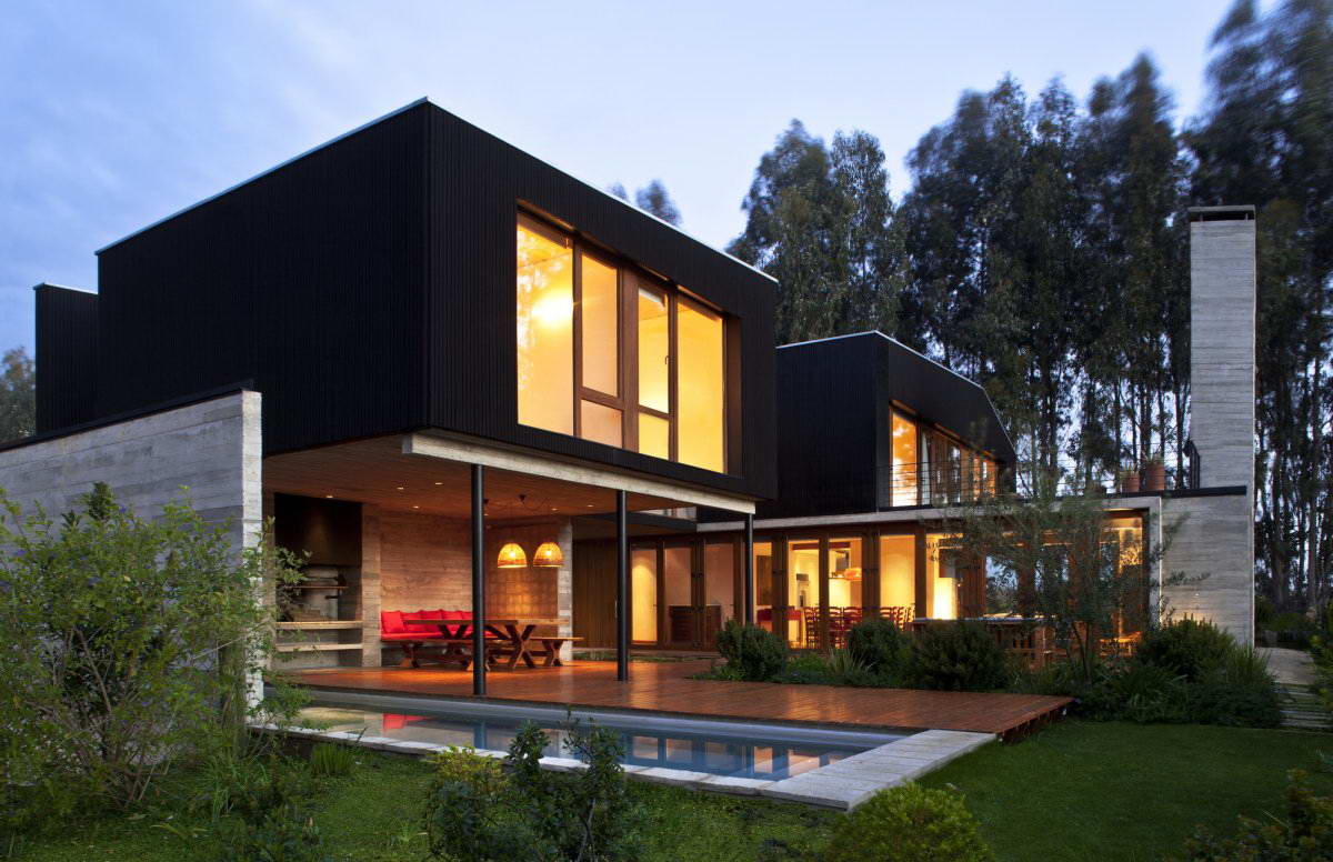 2 - Modern country home designs ...