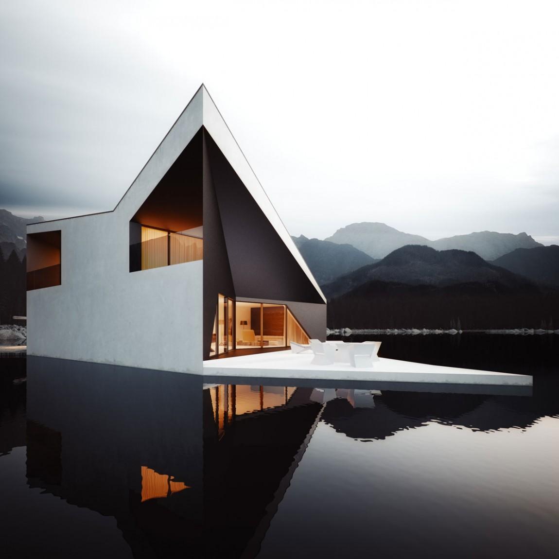 матери можно черно белое треугольное фото дома простой