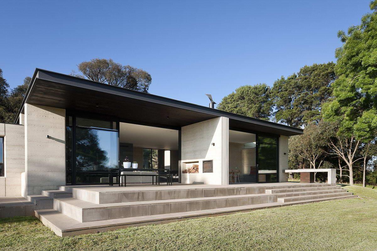 что фасад одноэтажного дома в современном стиле фото вставь скопированный
