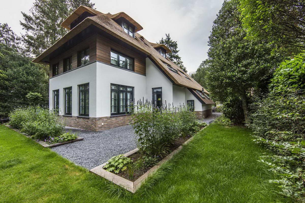 красивые европейские дома фото