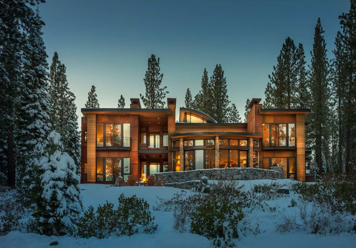 все дом в лесу фото и планы магию