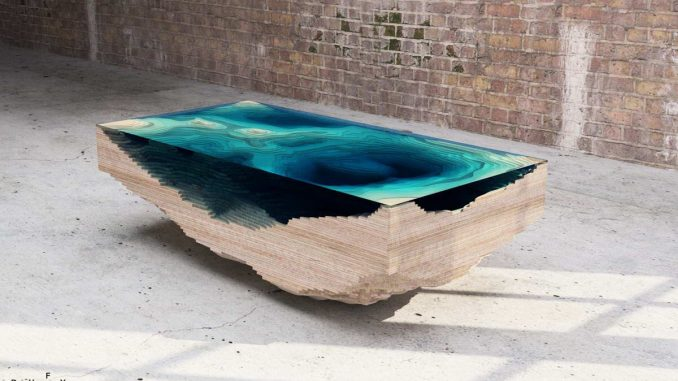 Стол Бездна (Abyss Table) от Christopher Duffy.