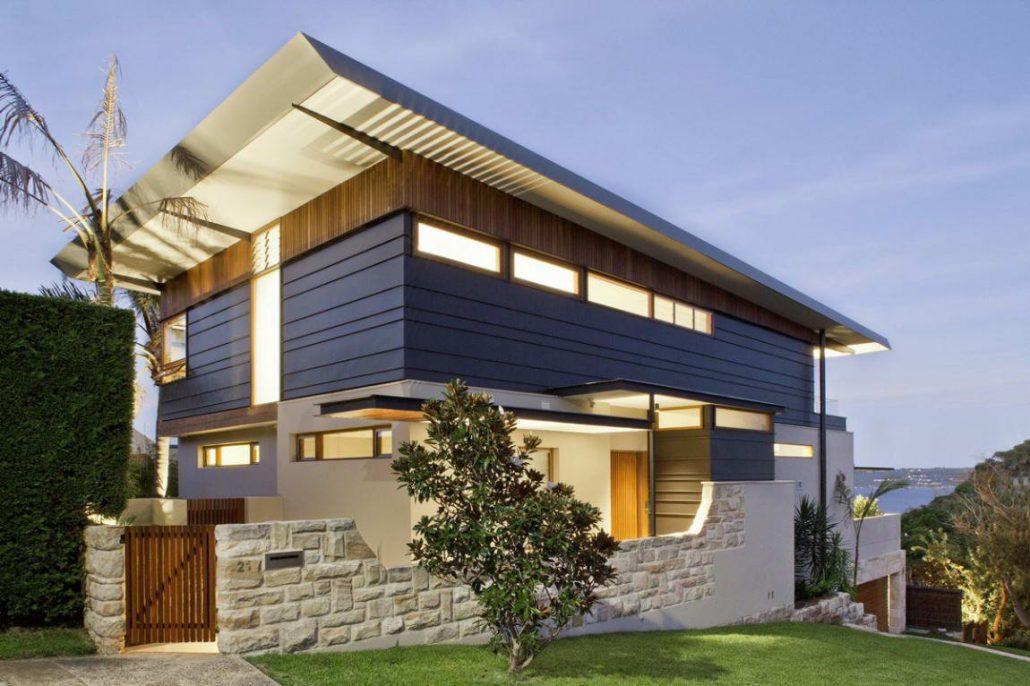стильный фасад дома фото чтобы скрепить