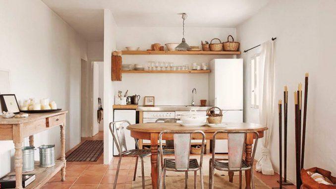 деревенский дом в испании