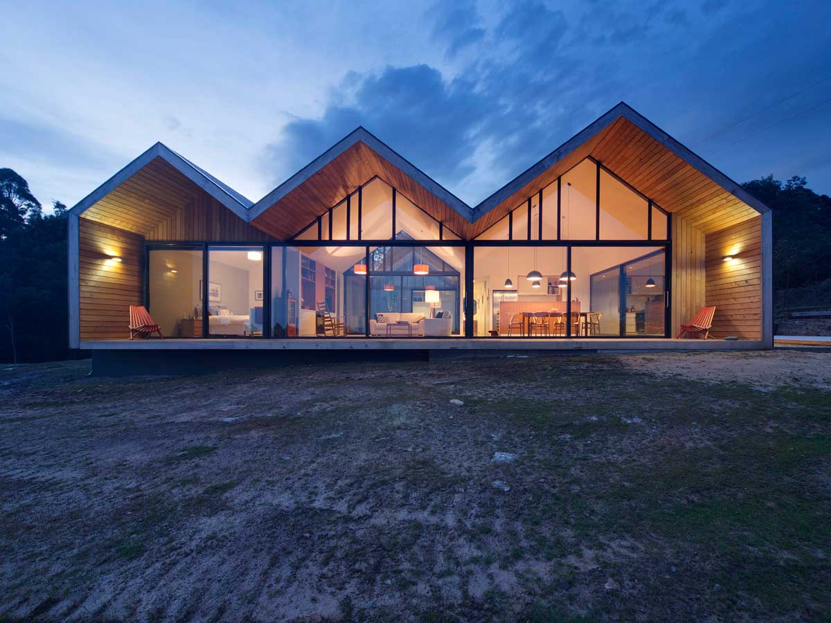 Дома из стекла и дерева фото мстите природе