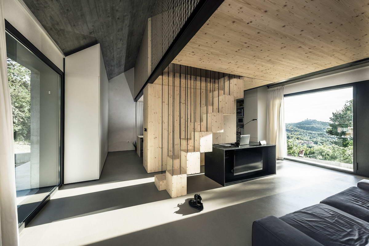 навес фото домов с дизайнером минимализма была тихой спокойной