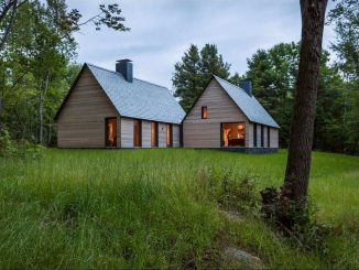 Пять коттеджей (Marlboro Music: Five Cottages) в США от HGA Architects.