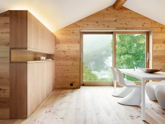 Шале DAL (Chalet DAL) в Швейцарии от Ralph Germann architectes s.a..