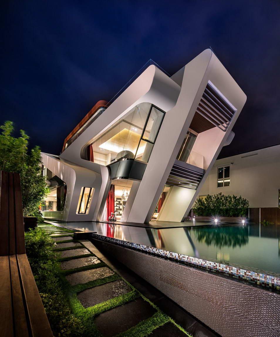 Самые необычные дома коттеджи виллы фото