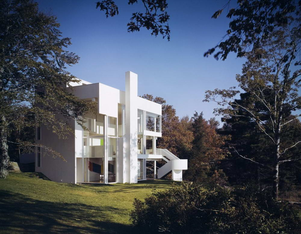 Дом Смита (Smith House) в США от Richard Meier & Partners Architects.