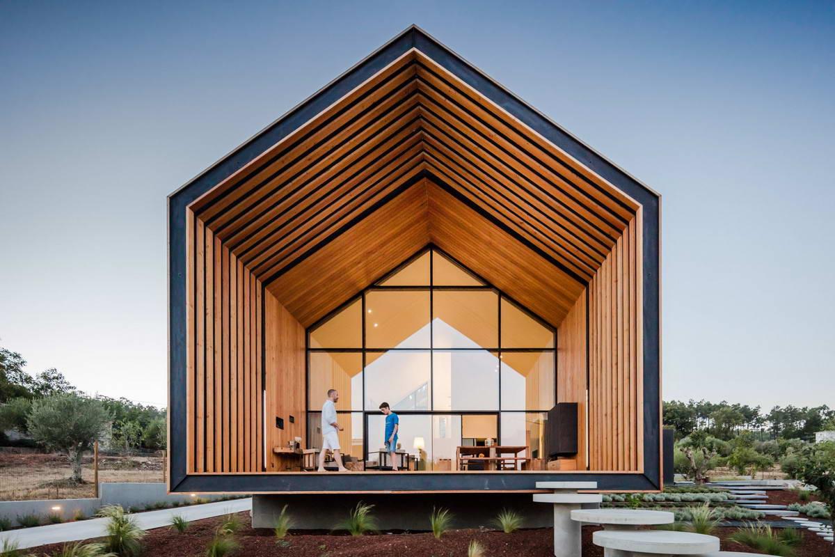 каркасные дома архитектура фото любят все упрощать
