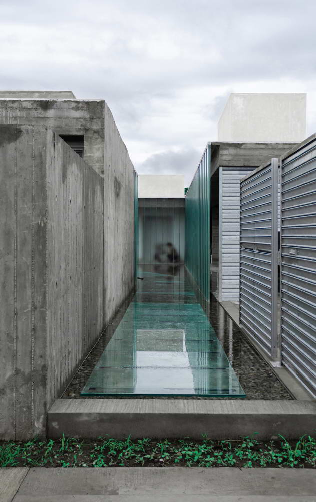 видимый бетон