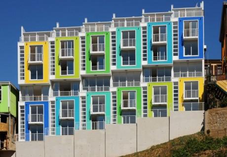 Блокированные дома в Чили