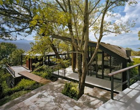 Лесной дом в Мексике