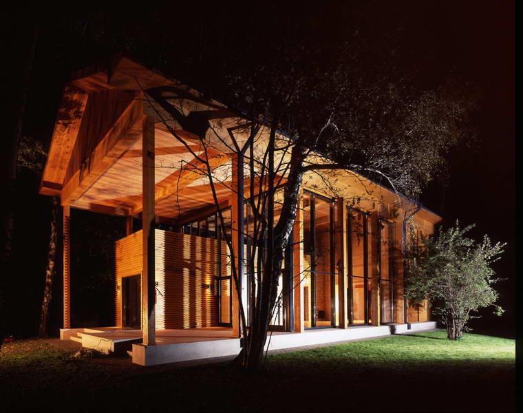 Загородные дома экономкласса выбор материала и варианты