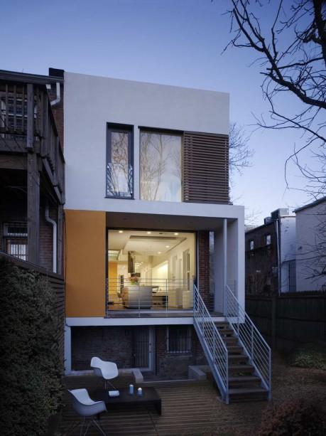 Реконструкция городского дома в США