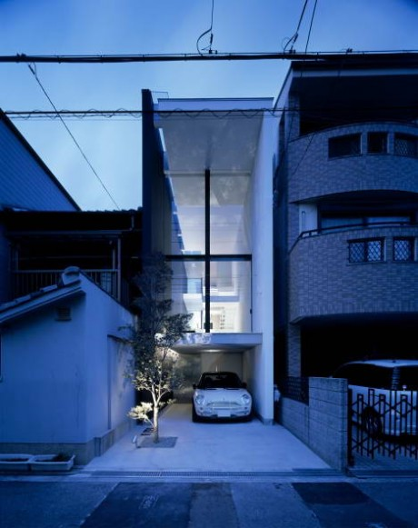 Трёхметровый дом в Японии