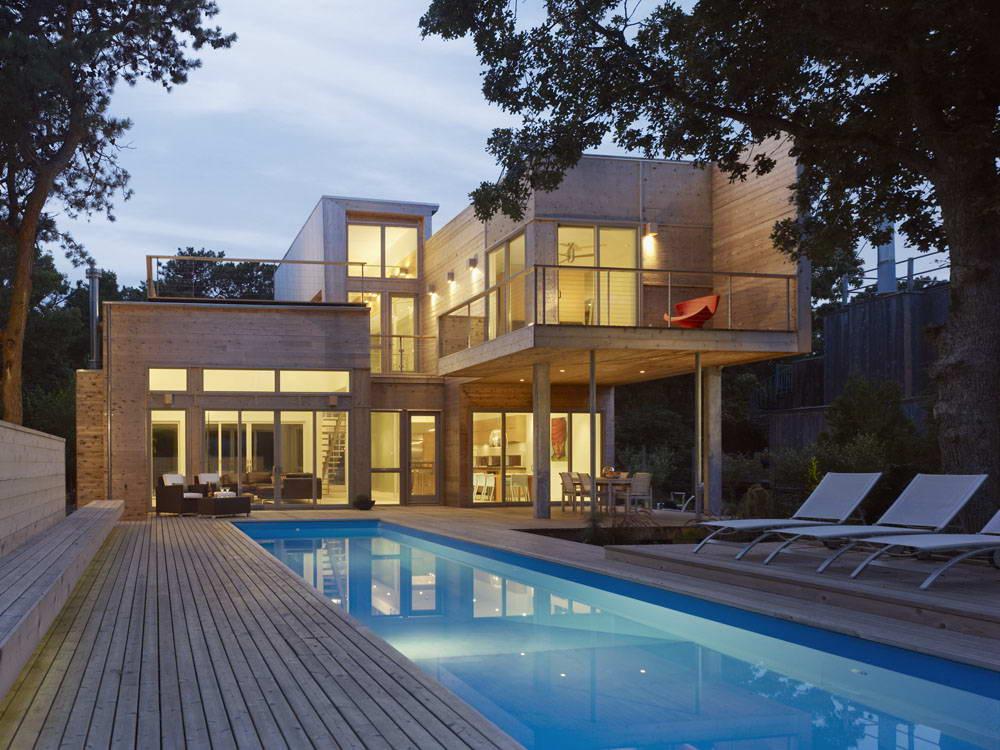 фото дом у океана