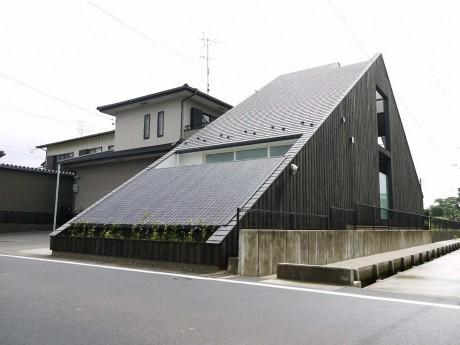 Дом-пирамида в Японии