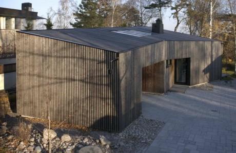 Домик для художника в Финляндии