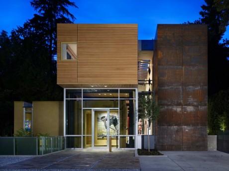 Дом с арт-галереей в США