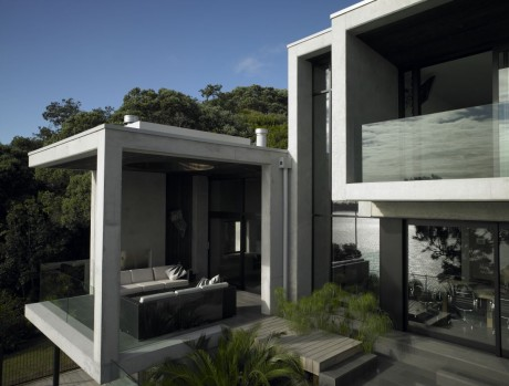 Бетонный дом в Новой Зеландии