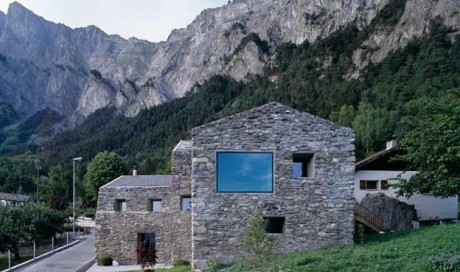Реконструкция дома в Швейцарии 2