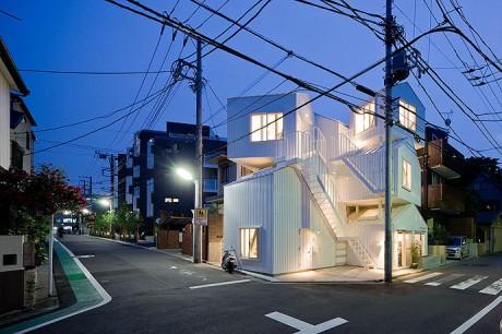 Дом-скворечник в Токио