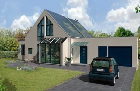 Пассивный дом в Швеции