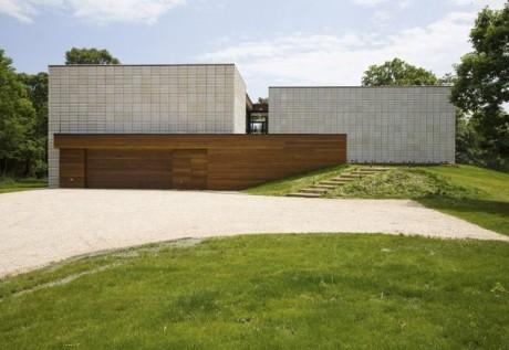 Дом с текстурным фасадом
