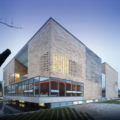 Дом для художника в Китае