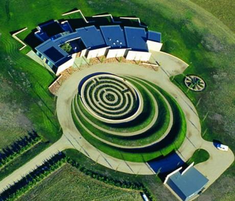 Земляной дом в Австралии