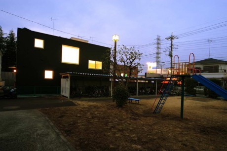 Городской дом в Японии 3