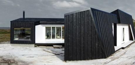 Прибрежный дом в Норвегии