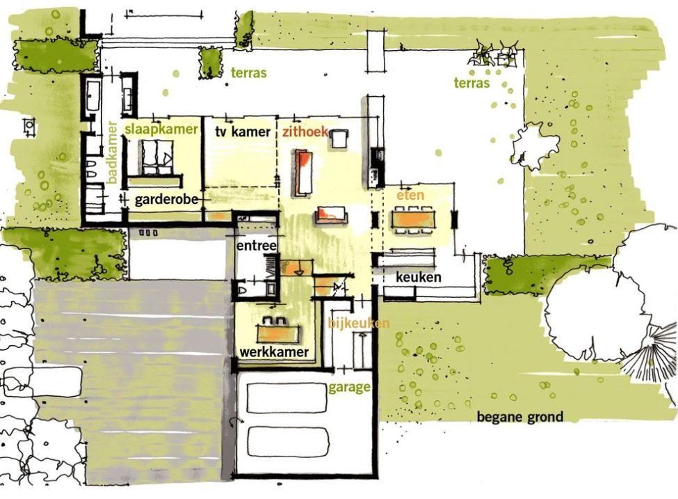 Superior Название: Дом в Бош ен Дуин (House In Bosch En Duin) Расположение: Bosch En  Duin, Голландия Архитектура: Maas Architects Строительство: 2008 Ideas