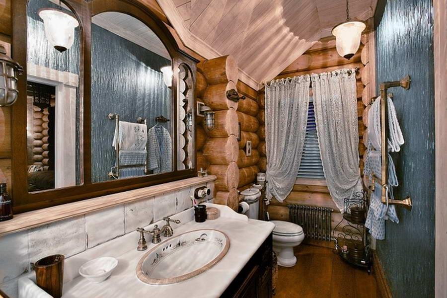 ...стекло, керамическая плитка, не противоречит деревянной составляющей интерьера, а лишь подчеркивает тепло и...