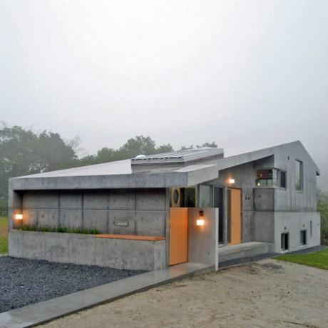 Очень бетонный дом