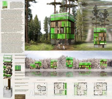 Пермский деревянный дом
