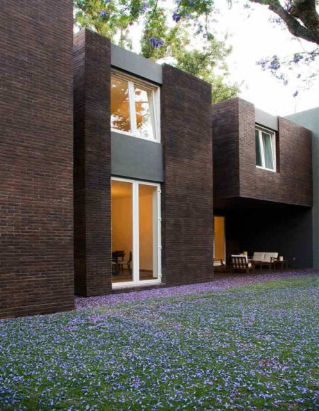 Кирпичный дом в Мексике 2