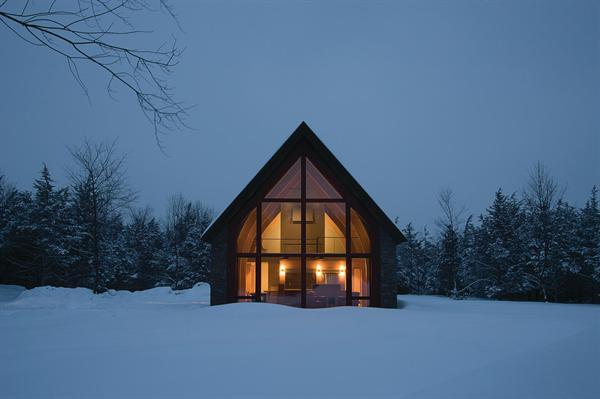 Первый пассивный дом в Нью-Йорке (First Passive House in New York) в США от Dennis...