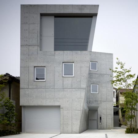 Бетонный дом в Японии 2