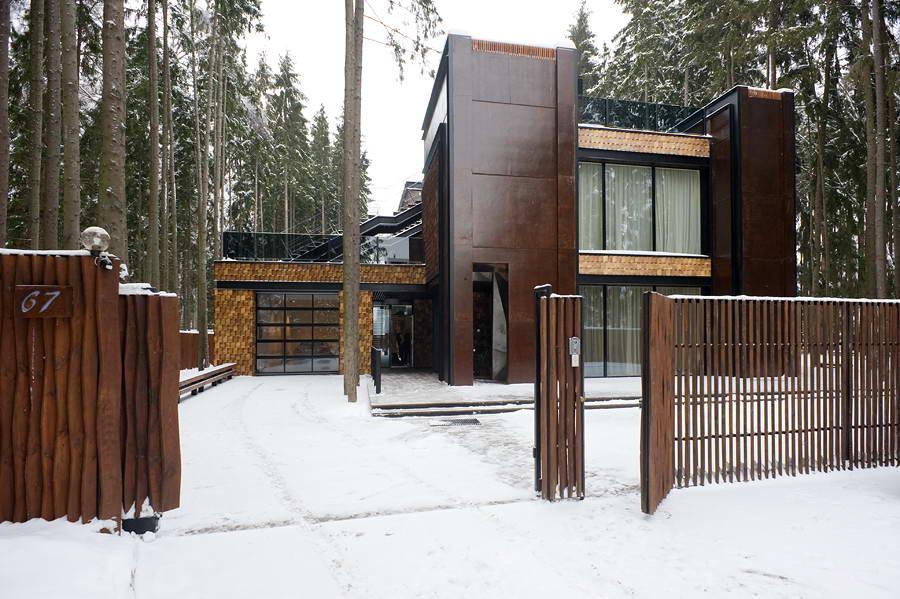 Современная архитектура россии дом в