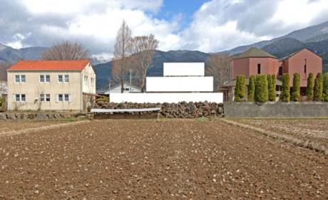 Акриловый дом (Acrylic House) в Японии от Takeshi Hosaka Architects.