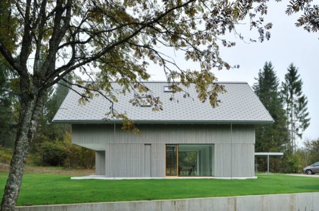 Дом Р (House R) в Словении от Bevk Perovi? arhitekti.