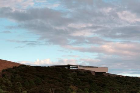Дом Корора (Korora House) в Новой Зеландии от Daniel Marshall Architects.