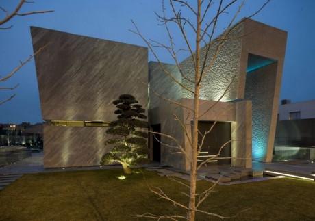 "Дом ""Открытая коробка"" (Open Box House) в Испании от A-cero Architects."