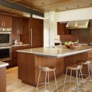 Designing kitchen island with seating