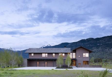 Пикс Вью Резиденция (Peaks View Residence) в США от Carney Logan Burke.